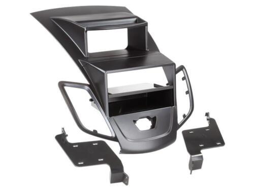 Storage Compartment Display Black Ford Fiesta ab09 Double DIN Radio Bezel Radio Bezel