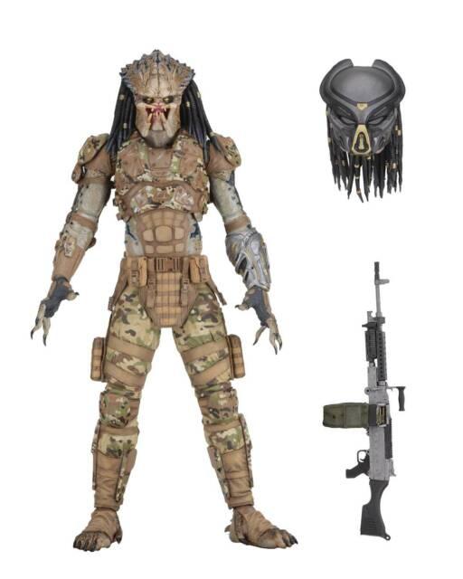 """Predator 2018 Emissary Predator II Concept Ultimate figurine 7"""" figure NECA"""