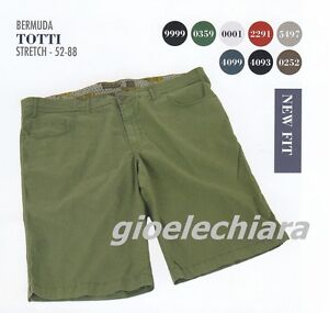 Pantaloni Corti Bermuda Pantaloncino Short Cotone Uomo Taglie Forti   S 6XL