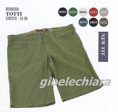 d4759322b7 taglie forti uomo Maxfort Totti bermuda cotone elasticizzato pantalone  corto | eBay