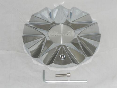 or MS-CAP-L196 or CAP-UJ-L160 LEXANI ICE CHROME WHEEL RIM CENTER CAP ICE-3 RWD