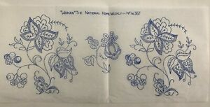 Vintage-floral-embroidery-transfer-from1930s-Woman-National-Home-Weekly-W367