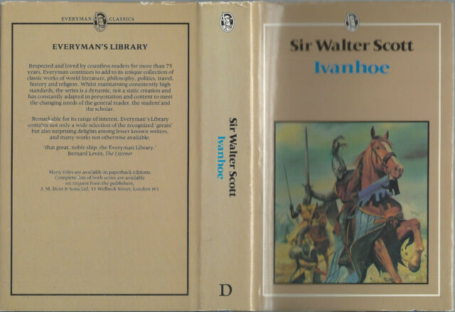 Ivanhoe by Sir Walter Scott (1983, Hardcover Book)