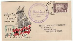 Australia-Broken-Hill-1958-FDC-with-special-cancel