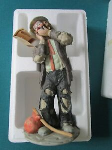 Emmett-Kelly-SCULPTURE-034-TOOTHACHE-034-FIGURINE-Original-Box-a-4