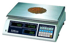 Cas Sc Series Precision Bench Counting Scale 25 Lbx0005 Lbkglbbrand New