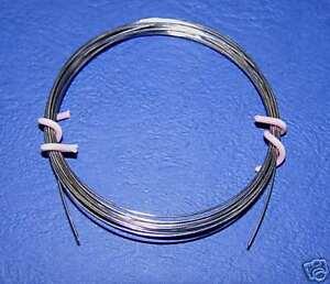 NiChrome Wire 60/% Nickel 15/% Chromium 25/% Iron  1 Metre