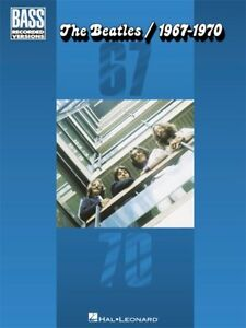 Details about The Beatles 1967-1970 Hits Play Hey June Penny Lane Bass  Guitar TAB MUSIC BOOK