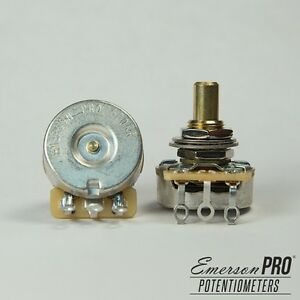 Emerson-Custom-CTS-Potentiometer-Solid-Shaft-Choice-of-500K-250K-Ohms
