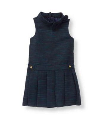 NWT Janie /& Jack LAKESHORE GETAWAY 18 24 M 2 3 4 5 6 Floral Dress Blue Green $59