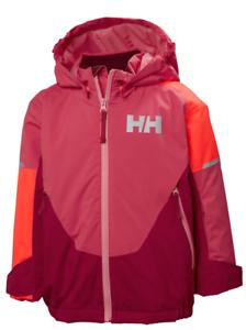 dcaa8182 Helly Hansen K Rider Insulated Girls Ski Jacket, Goji Berry | eBay