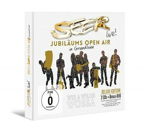SEER-SEER-anniversario-Open-Air-2-CD-DVD-NUOVO