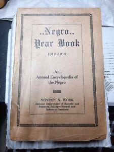 Negro Year Book 1918-1919