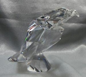 SWAROVSKI-SILVER-CRYSTAL-SYMBOLS-THE-EAGLE-624599-MINT-IN-BOX-RETIRED-2005