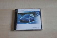 SV0453) Opel Zafira OPC - 2 x CD-ROM - Pressekit 10/2001