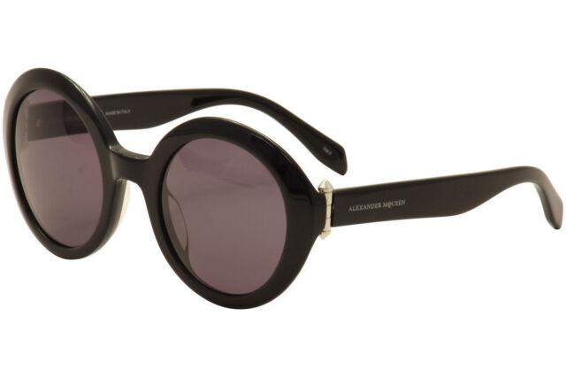 dc914b27c01 Alexander McQueen Sunglasses Am0002s 001 Black grey. +.  118.74Brand New. Free  Shipping