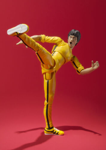 S.H.Figuarts Bruce Lee Yellow Track Suit Action Figure New no box