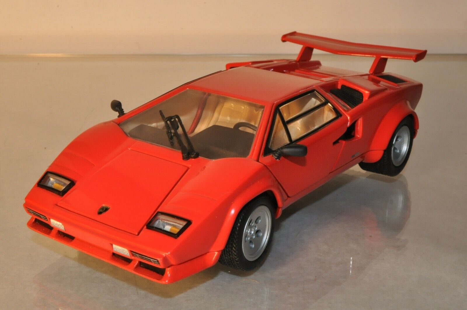 B913 franklin mint 1 24 1985 lamborghini countach 5000s a + -