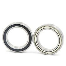 2pcs Sealed Metal Shielded Ball Bearing 16009zz 16009 2rs 45 X 75 X 10mmmms