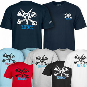 Powell Peralta RAT BONES Skateboard T Shirt NAVY XL
