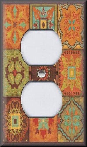Cerâmica Preto Vermelho Branco Folhas Design Redondo 4cm Porta Botão//puxadores//cabos