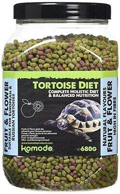 Campione Di Komodo Tartaruga Cibo Dieta Nutrizione Olistica Pellet Frutta & Fiore Uk-mostra Il Titolo Originale Colori Fantasiosi