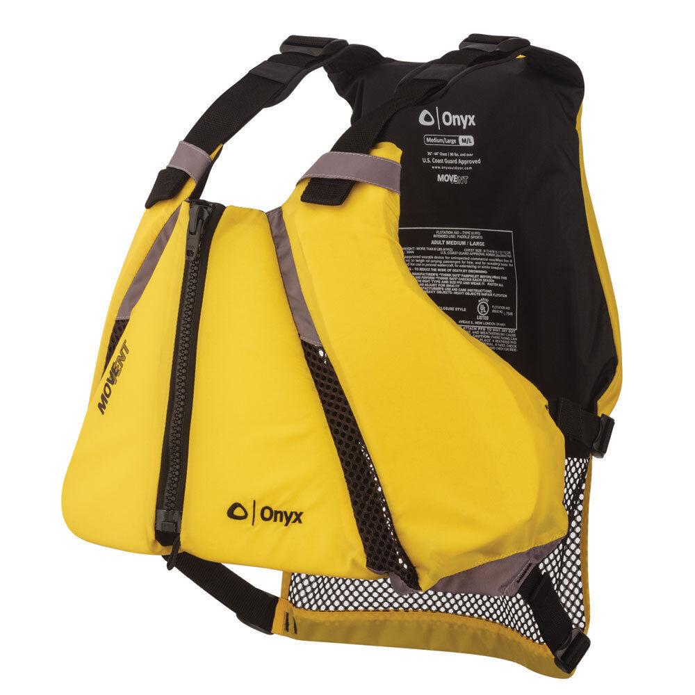 Onyx MoveVent Curve Paddle Sports Life Vest - XS S