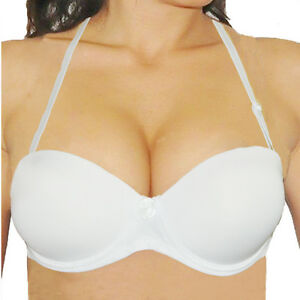 7922eec1c Push Up Bra Strapless Wedding Padded Multiway Bras 32 34 36 38 40 ...
