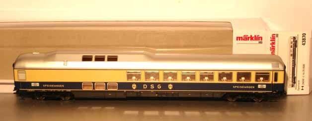 Märklin HO:  43870 DB Speisewagen  *Rheingold*