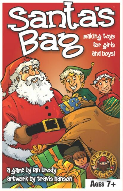 Santa's Bag Game By Griggling Games NISB - National Parenting Center Award