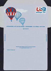 #UC46 15c Usa-Hot Aire Ballooning, Nunca con Pliegue, Timbre Nh