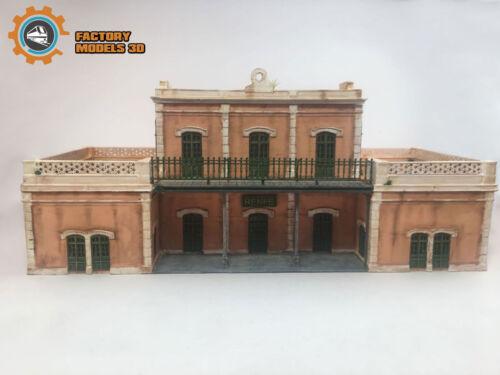 h0//ho 1:87 Iberian station based in Aguilar de la Frontera Córdoba
