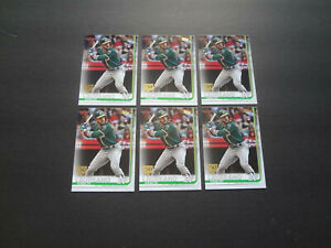 2019-Topps-Ramon-Laureano-150th-Years-Anniversary-Rookie-Lot-64-Series-1-Oakland
