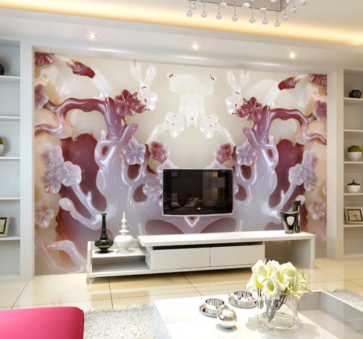 3D Fashion Gemstone 84 Wall Paper Murals Wall Print Wall Wallpaper Mural AU Kyra