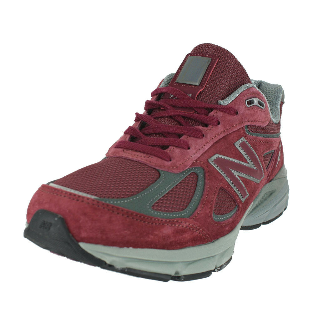 NEW BALANCE 990V4 2E WIDE BURGUNDY M990BU4 2E MENS US SIZES