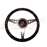 14 Wood Steering Wheel & Adaptor For Mgb 1977-1980 1 Thick Rim