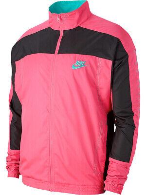 Nike x Atmos Mens Airmax Vintage Patchwork Track Jacket Hot PinkTealBlack New | eBay
