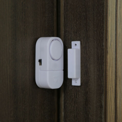 1-10 PC WIRELESS DOOR AND WINDOW ENTRY ALARM BATTERY HOME SYSTEM SECUIRTY SWITCH