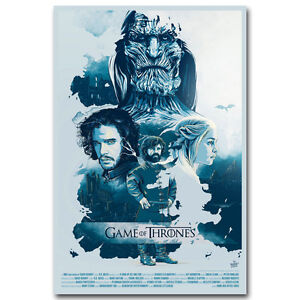 Game of Throne Season 7 2017 New TV Shows Silk Poster 13x20 24x36 inches J419