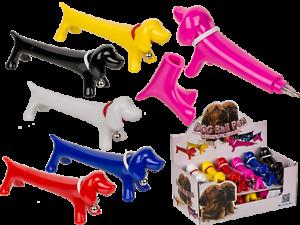 Dackel-Kugelschreiber-verschiedene-Farben-Hund-Stift-witzig