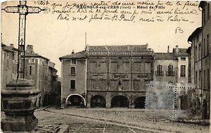 CPA BAGNOLS-sur-CEZE - Hotel de Ville (459093)