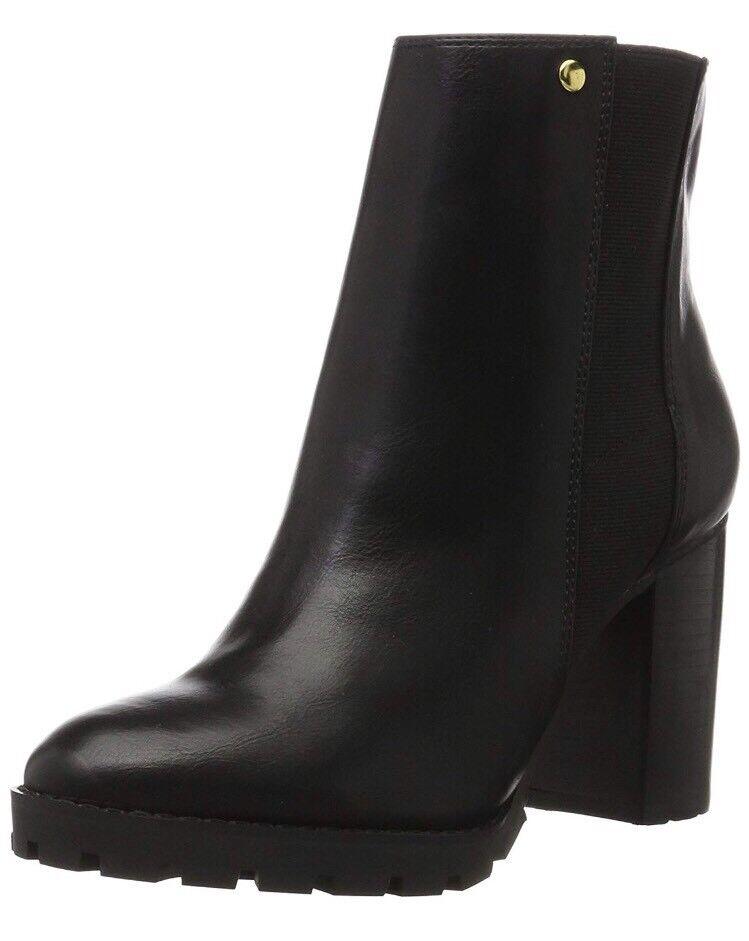 Buffalo Femme B118A-54 P1735A bottes Basses en simili cuir, noir (noir 01 0) 6.5 UK 40 UE