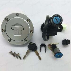 Ignition Switch Fuel Gas Cap  Seat Lock For Honda CBR600RR 07-14 CBR1000RR 08-14