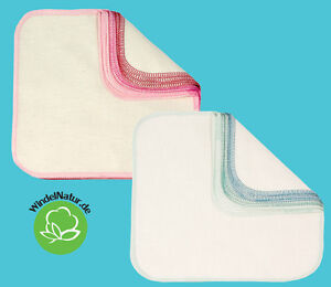 Imse-Vimse-Waschlappen-12-Stueck-Bio-Baumwolltueche-Pflegetuecher-Maedchen-Jungen