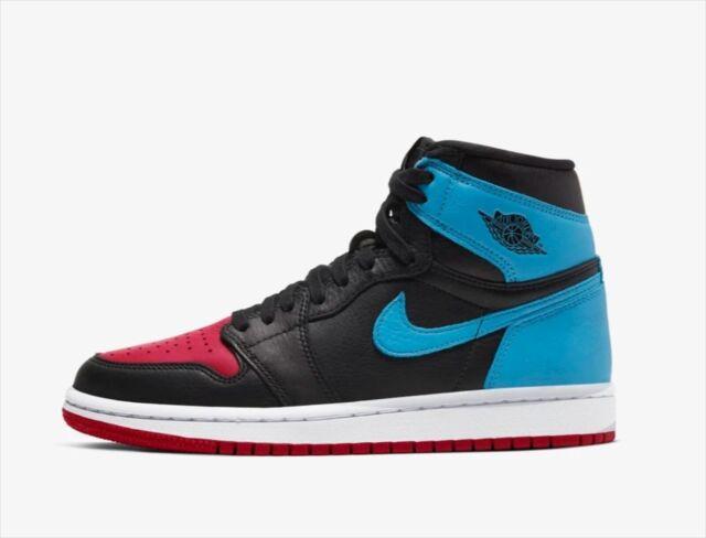 Women Nike Air Jordan 1 Retro I High Og Unc To Chicago Black