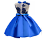 Childrens-Girls-Spring-Summer-Embroidered-Ribbon-Bow-Flower-Mesh-Dress-O78 thumbnail 13