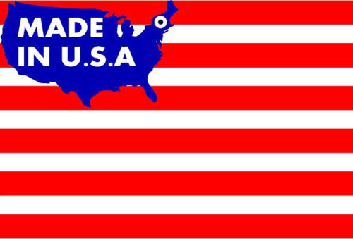 """#397  USA American Flag 5/"""" x 3/"""" Decals Stickers Vinyl Outdoor LAMINATED"""