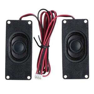 3W-3070-2Pcs-3070-Advertising-LCD-TV-Loudspeaker-Passive-Rectangle-Speaker-k