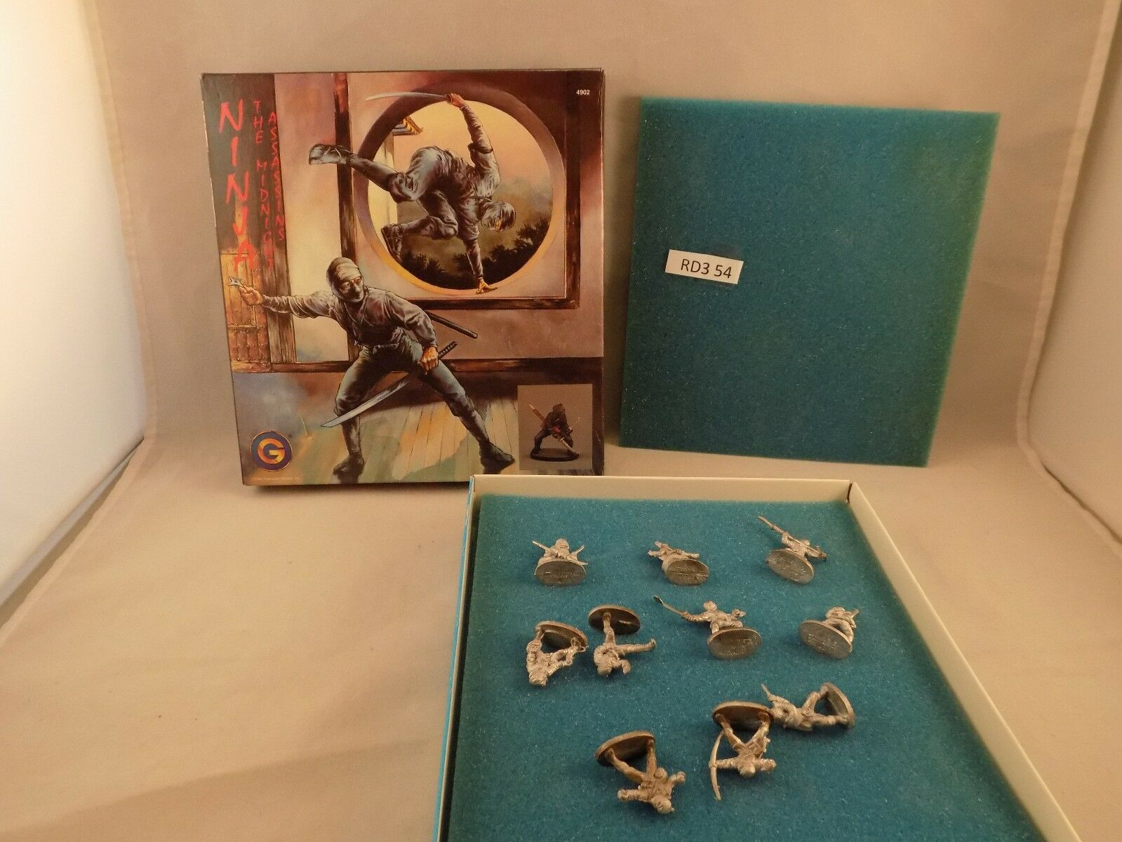 Grenadier Models figures NINJA The Midnight Assassins Boxset (RD3 54)