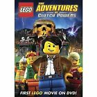 Lego Adventures of Clutch Powers 0025192043352 With Roger Rose DVD Region 1